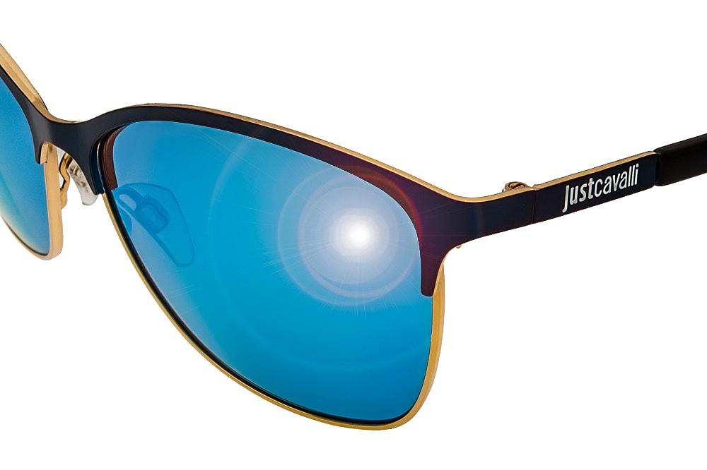 Just Cavalli JC662S 92X blue shine
