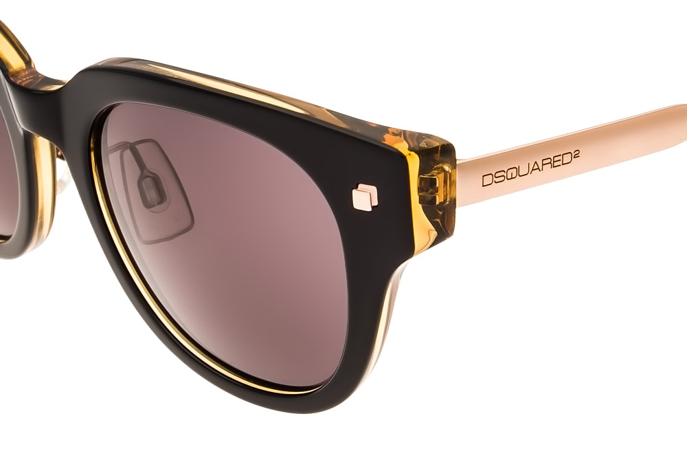 Dsquared2 DQ0140 05N gold logo