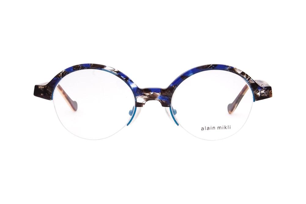 Alain Mikli AL 822 005 round blue