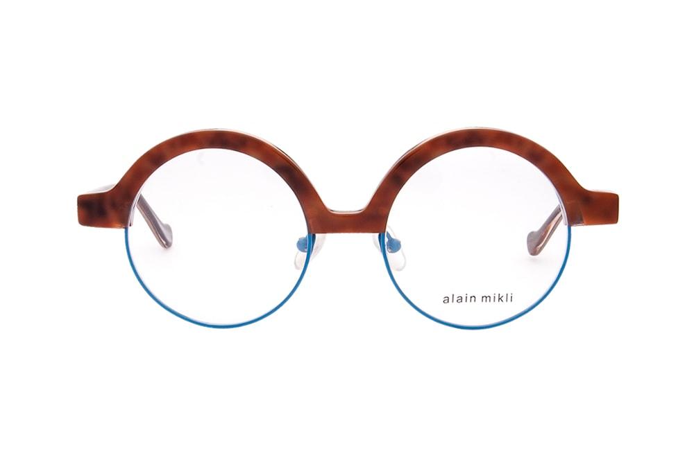 Alain Mikli AL 821 004 wood blue