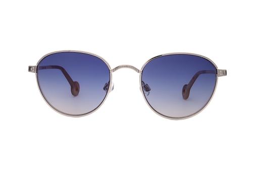 Солнцезащитные очки в серебрянной оправе 84a7c8ad48f38