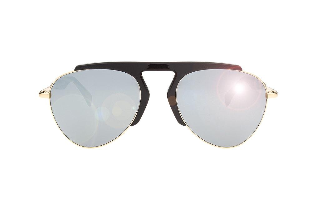 Yohji Yamamoto YY7001 D1 aviator silver mirror