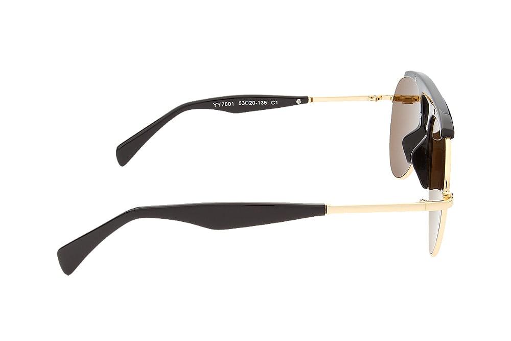 Yohji Yamamoto YY7001 bronze gold lenses