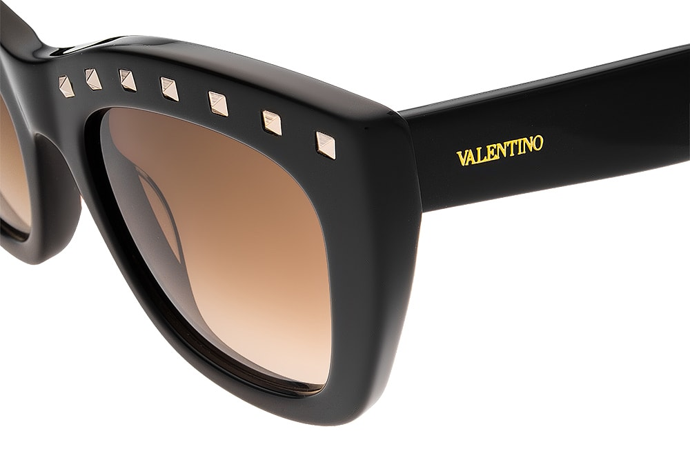 Valentino v716s 001 hard plastic blk