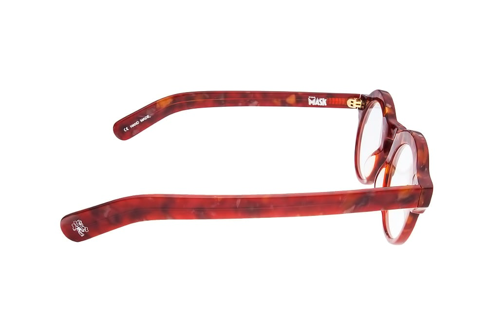 The Mask 146203 round flower red